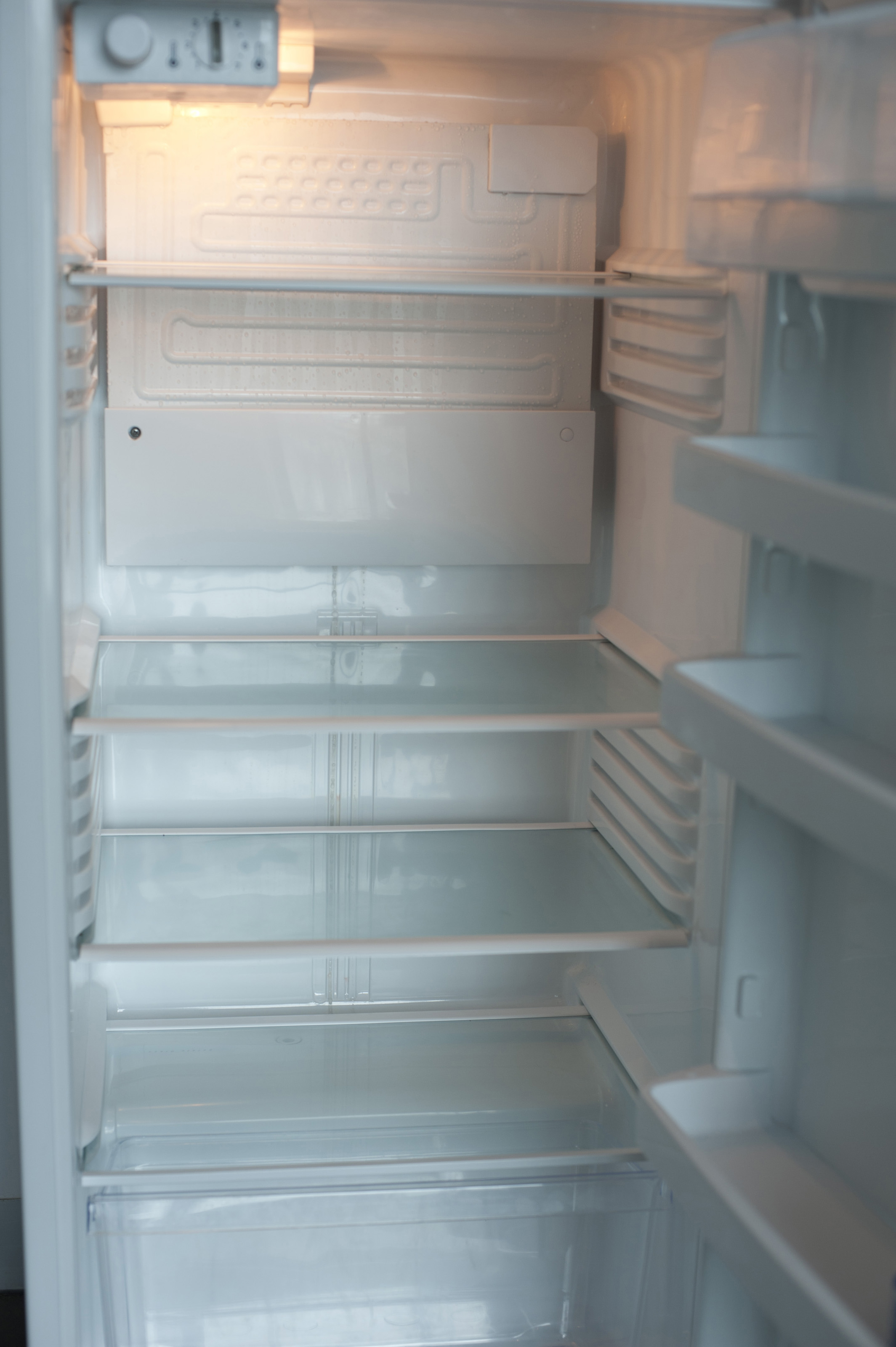 Free Stock Photo 10651 Open Empty Refrigerator