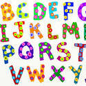 9412   funky alphabet