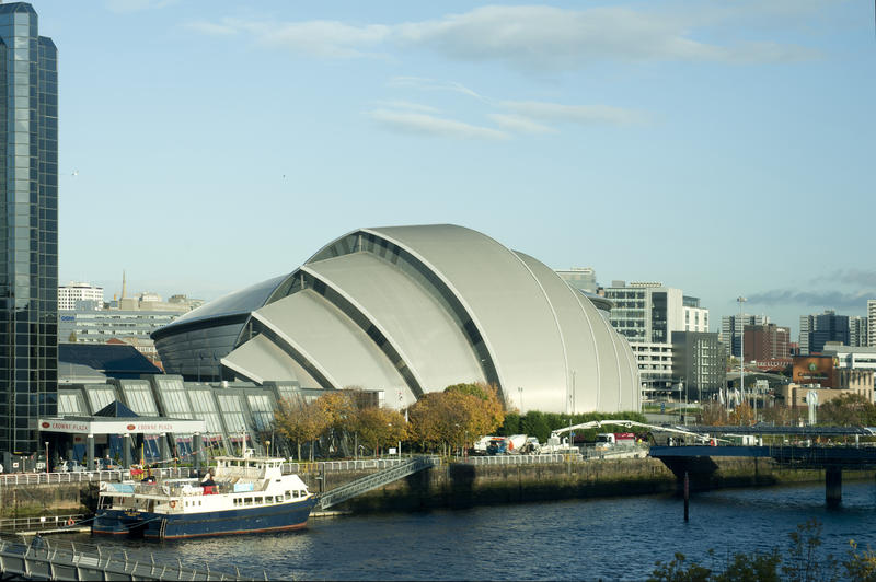 8749   SECC and the River Clyde, Glasgow