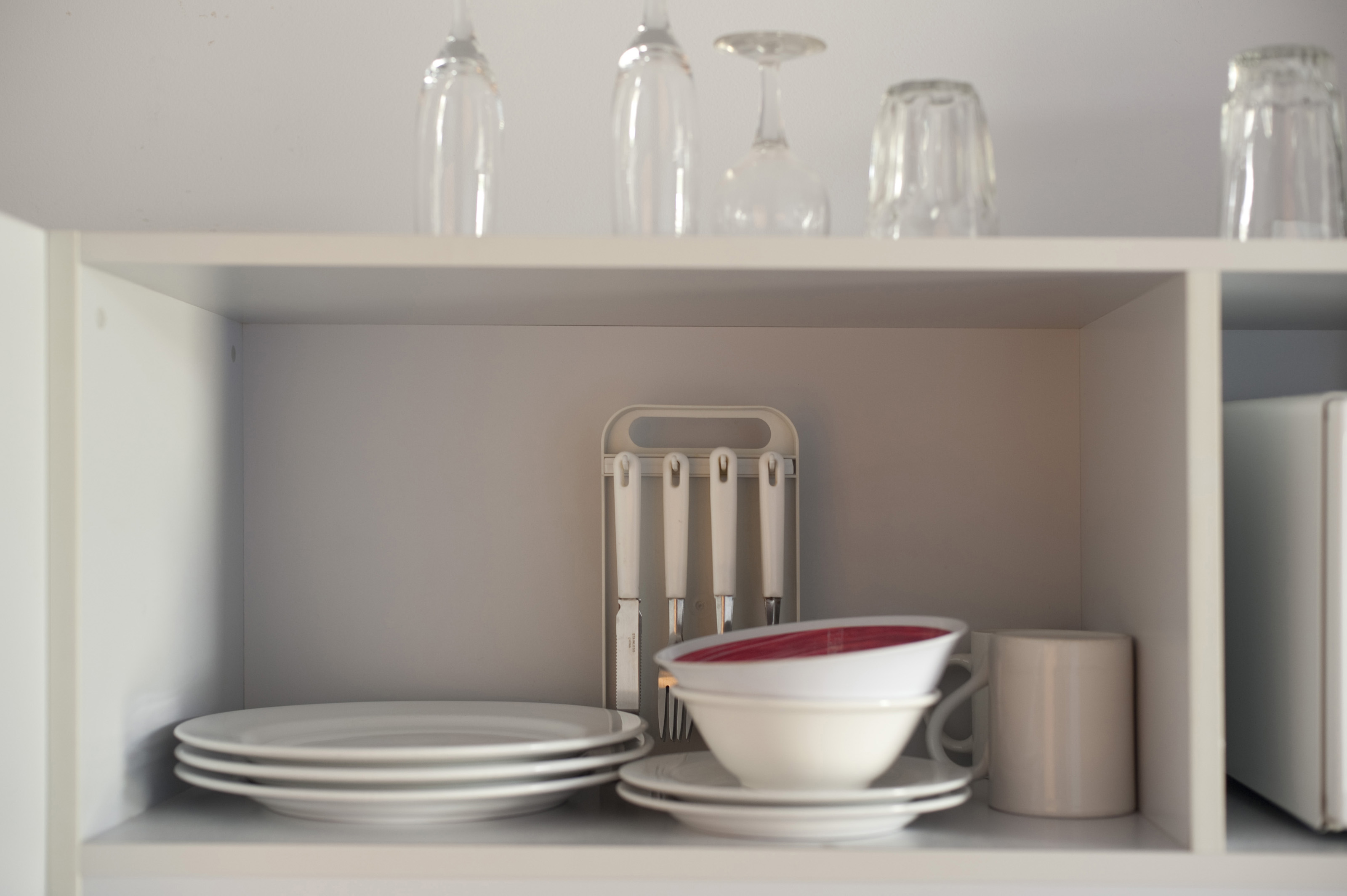 Kitchen Stand Designs : Free stock photo open kitchen shelves with crockery