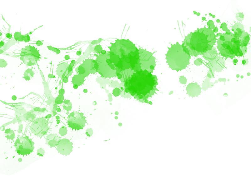 9530   green paint splats
