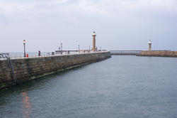 7934   Sheltered water in Whitby harbour