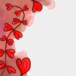 11061   heart border