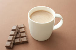 11600   White mug of cacao and milk chocolate