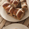 11787   Batch of fresh Hot Cross Buns for Easter