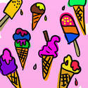 10559   ice cream wallpaper
