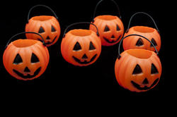 8544   Halloween jack o lantern decorations