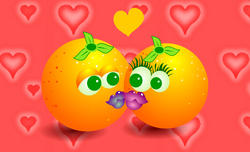 9368   kissing oranges