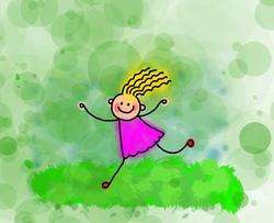 9491   little stick girl