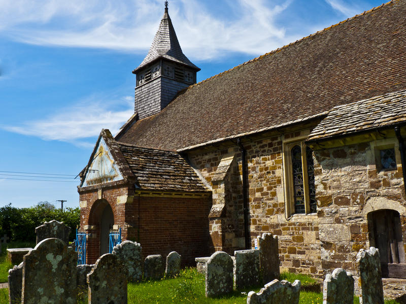 <p>Local Medieval Church</p>The Church of St.Mary sits in a lovely secluded spot at the village of Ellingham near Ringwood. It has occupied this position since the middle ages.