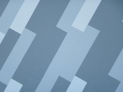 10926   Blue Modern Architectural Geometric Detail