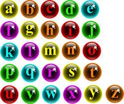 9420   monogram bubble icons