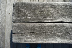 10927   Grey Weathered Wood as Part of Structure