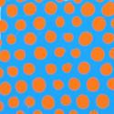 9605   orange chalk polkas