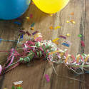 11469   Birthday Party Decorations on Wooden Table
