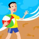 10873   people beach boy