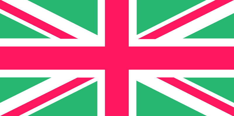 <p>United Kingdom Union Jack flag clip art illustration.</p>
