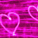 9026   pink heart page banner