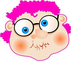 9482   pink rinse granny