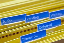 10829   Procrastination Concept   Files with Labels