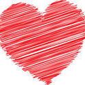 9429   scribble heart