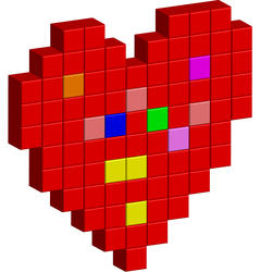 10877   shapes pixel heart
