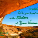 11581   Sheltered in God's Presence