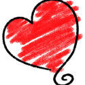 9431   sketched heart