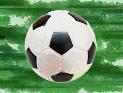 9509   soccer ball painting 0