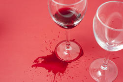 11623   Spilled red wine