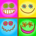 10358   square emoticons