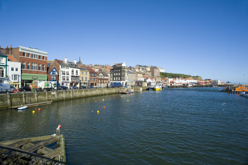 St Ann's Staith or harbour in Whitby derived from the Norse word 'staithe' meaning harbour