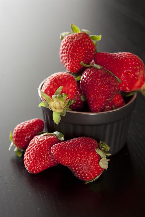 10521   Fresh ripe red strawberries