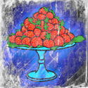 9546   strawberry textured