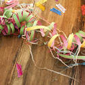 11483   Jumble of colorful party streamers