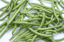 10627   Healthy Fresh String Beans on White Table