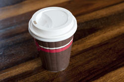 10628   Disposable Coffee Cup with Cover for Takeaway