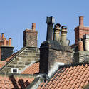 7930   Rooftops and chimney pots