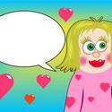 9362   valentine girl