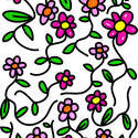 9108   whimsical flowers