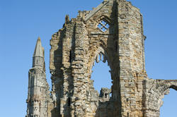 7924   Whitby Abbey ruins