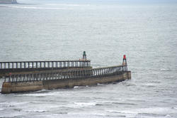 7939   Pier and rough sea