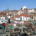 7838   Crab and lobster pots at Whitby