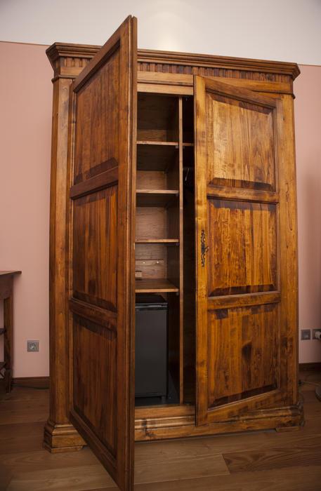 Free Stock Photo 8923 Old Wooden Wardrobe Or Armoire