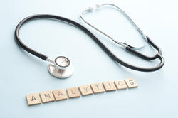 12138   Analytics expertise concept with stethoscope