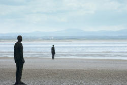 12875   Antony Gormley artwork Another Place