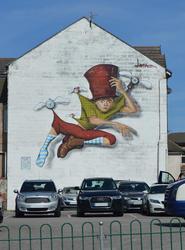 17050   Street Art / graffiti art in Blackpool