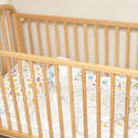 11954   Empty wooden baby crib