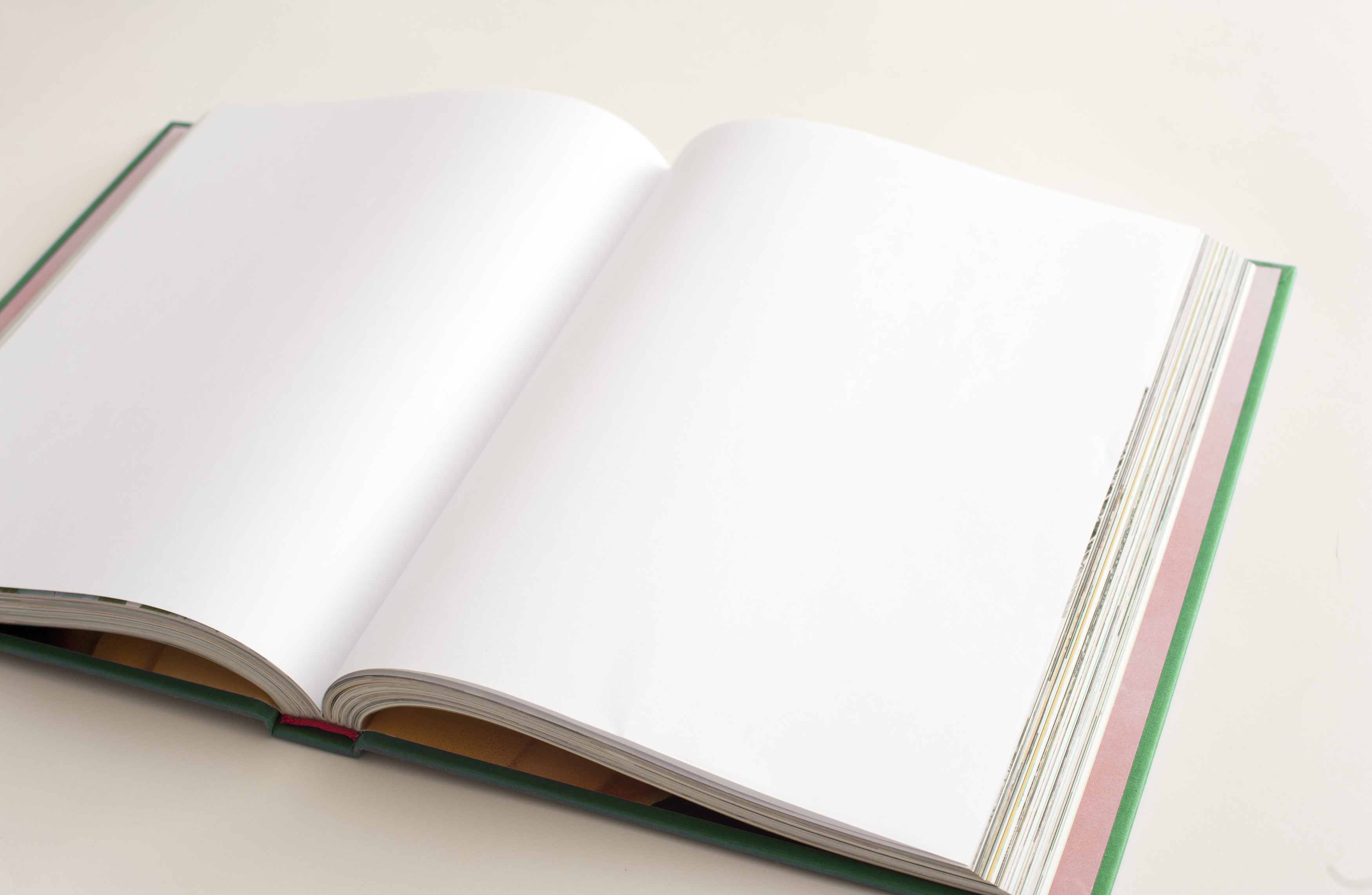 Free Stock Photo 13085 Open blank book with copy space ...