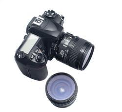 12150   Single lens reflex camera with detachable lenses